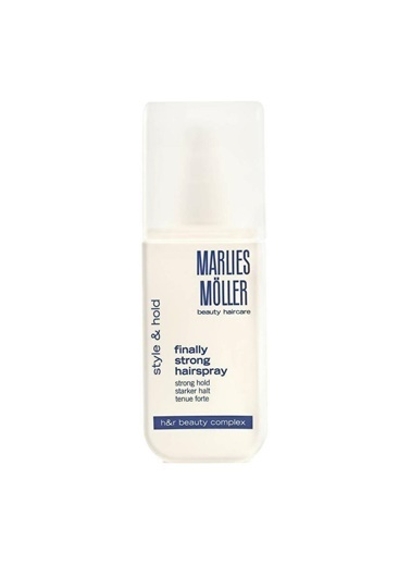 Marlies Möller Essentıal Stylıng Fınally Strong Haır Spray 125 Ml Renksiz